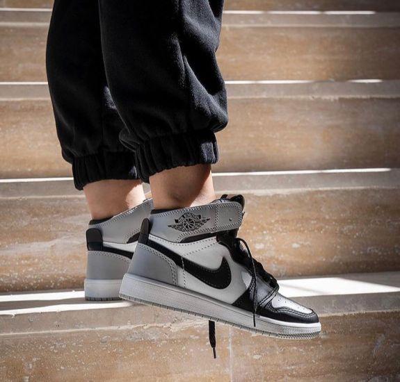 Nike Air Jordan 1 Black n Grey
